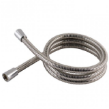 Chrome Shower Hose Short 1 Metre Large Bore - 50600330